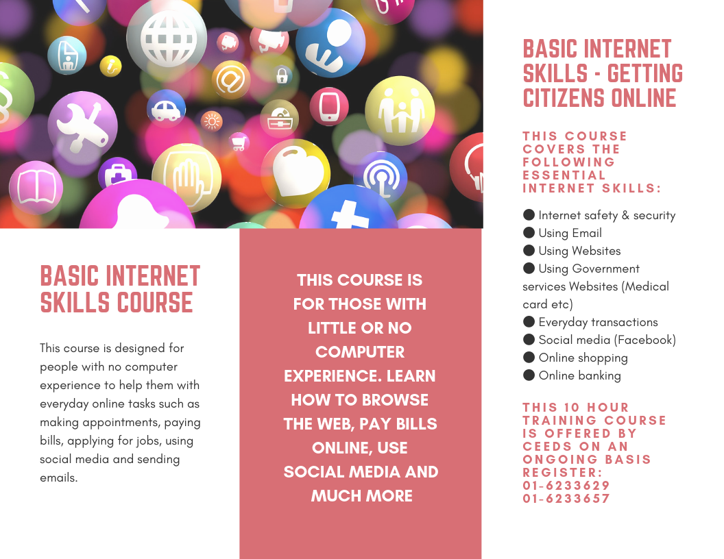 FREE Internet Skills Course – Ceeds ie