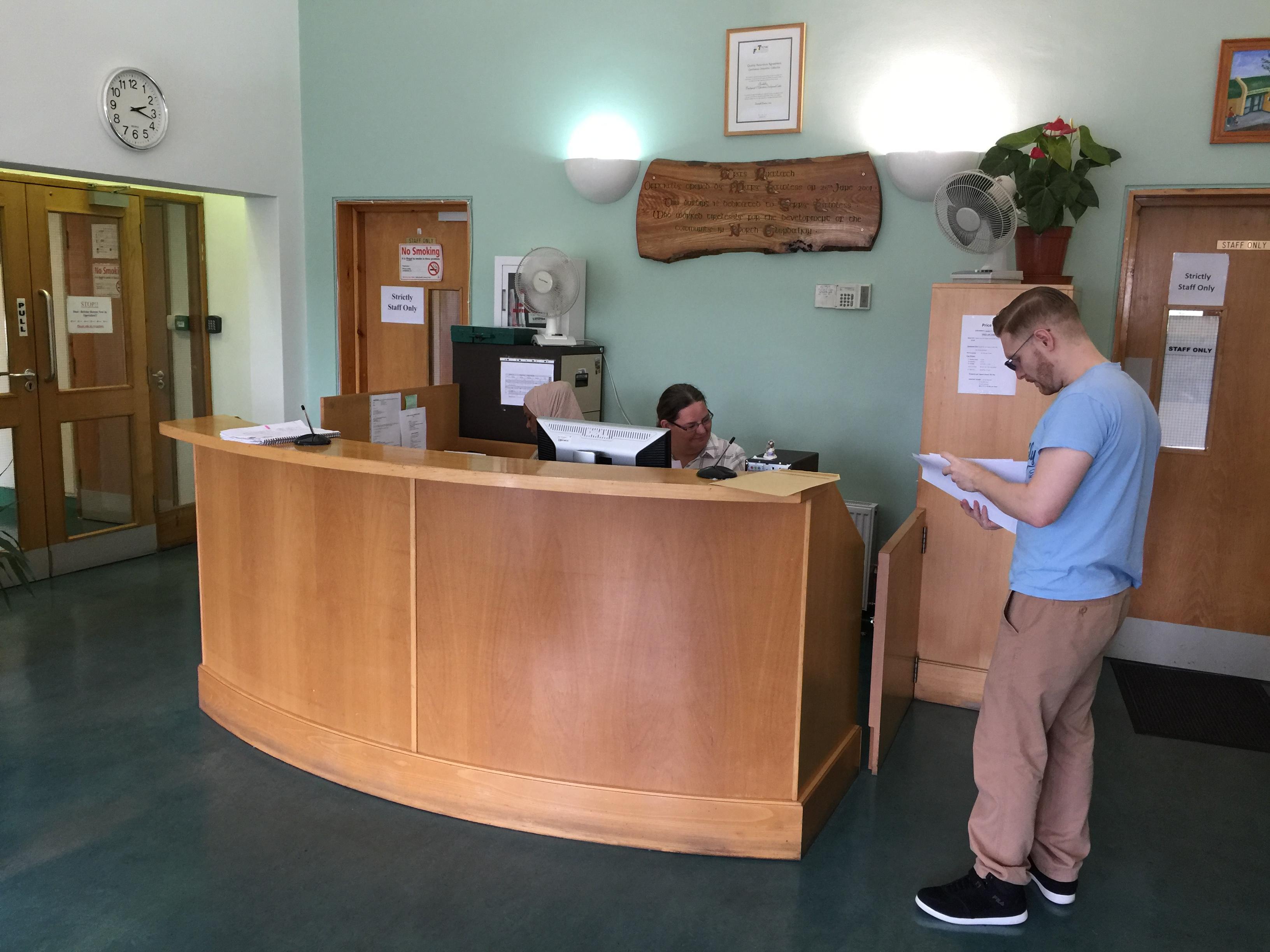CEEDS Reception area