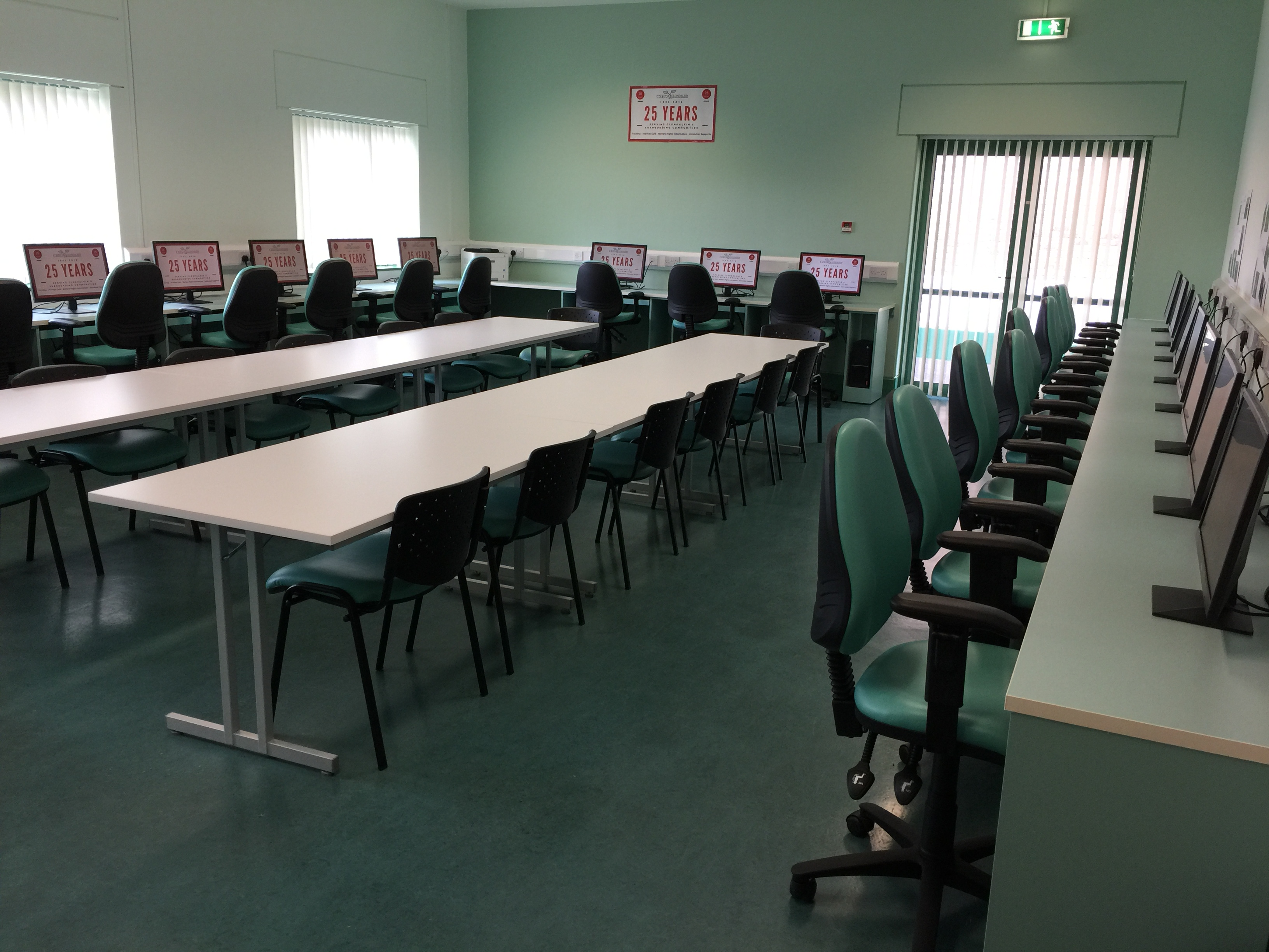 Computer training room rental Dublin