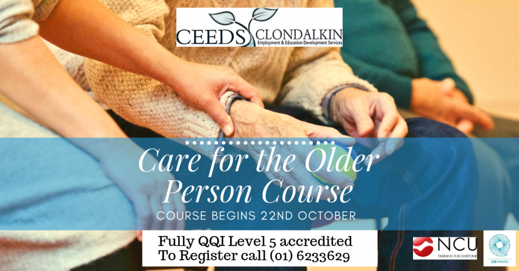 Care of the Older Person Course