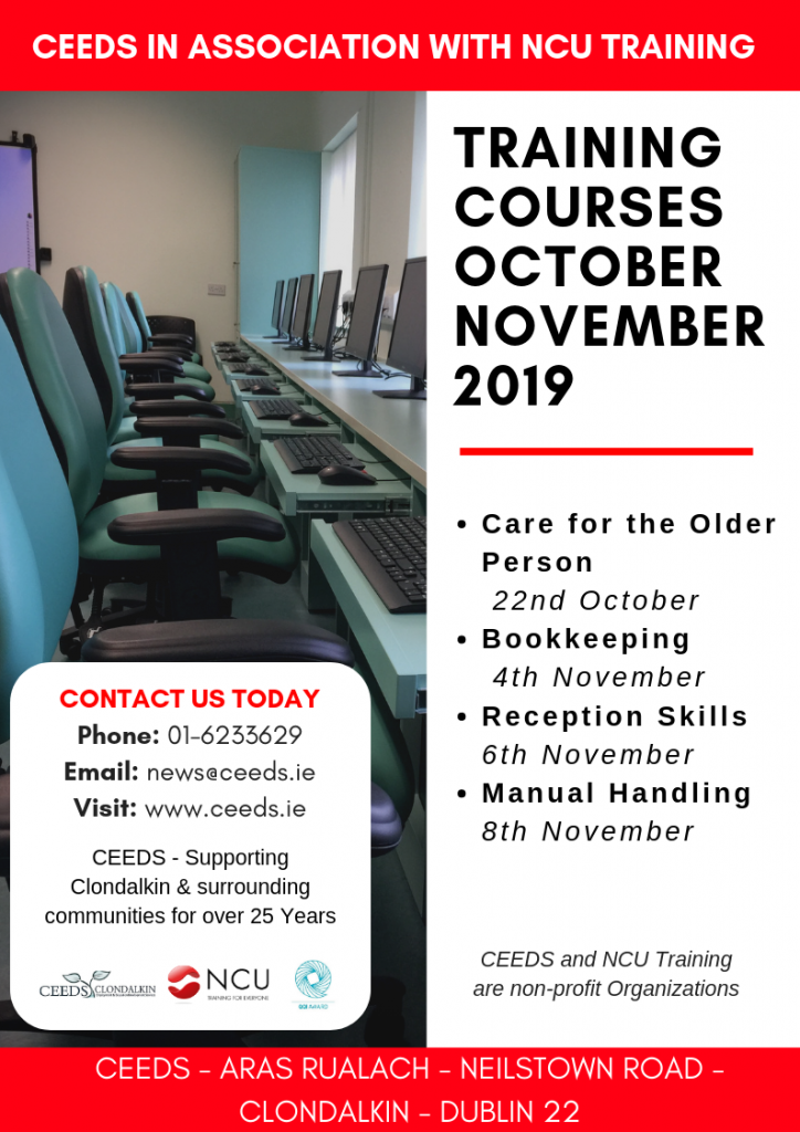Training Courses November 2019