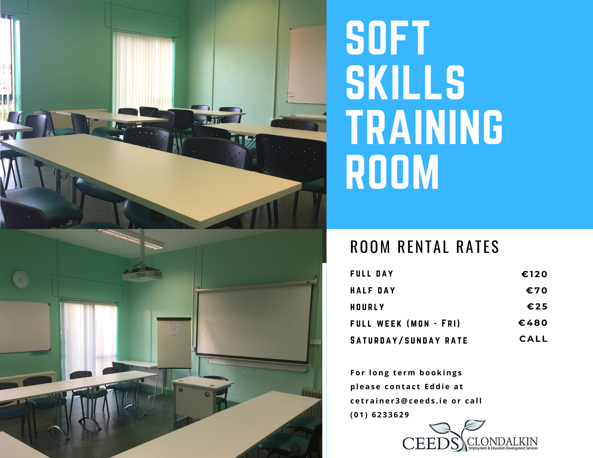 Training room hire Dublin