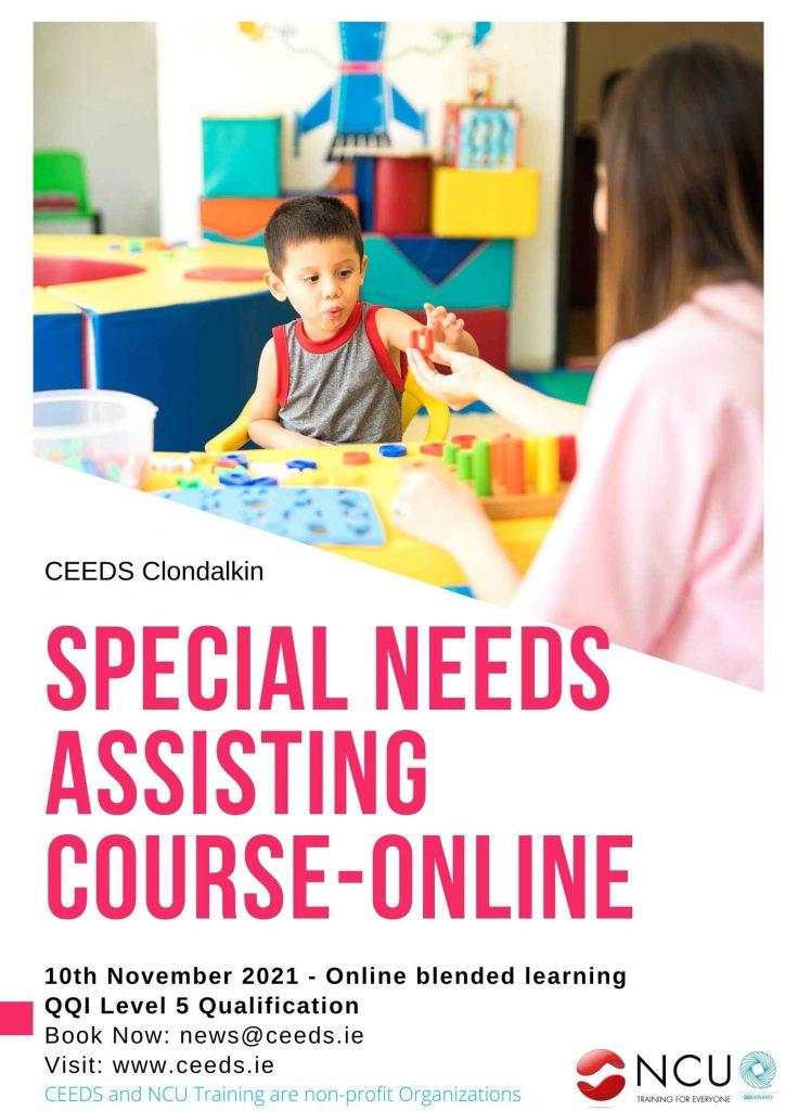 Special Needs Assisting Course Dublin